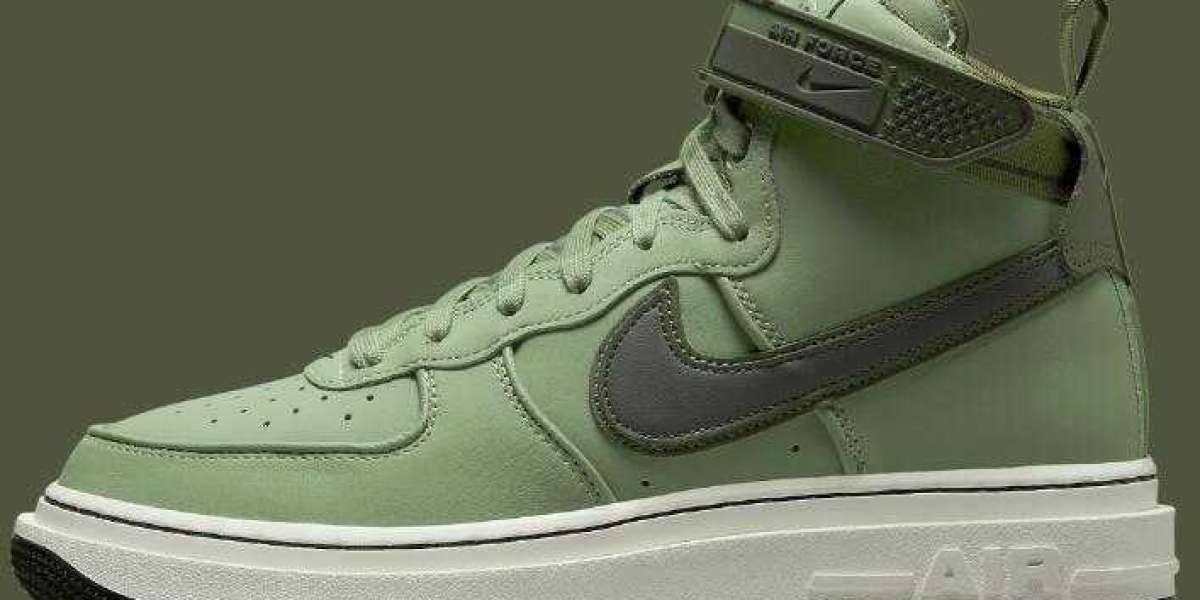Nike Air Force 1 High Boot Releasing With Military Green